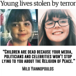 "Around the web: children are dead because the elite lies about the ""religion of peace"""