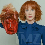 Kathy Griffin hilarious as always with fake decapitation of Trump