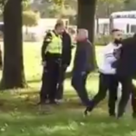 Police look on as Dutch Pegida harassed and threatened by Turks