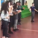 "Netherlands: School has children singing ""Wilders, get out"""