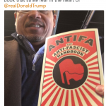 Congressman Keith Ellison supports Antifa terrorism