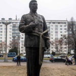 While most statues are too offensive, Berlin puts up a statue of Stalin