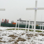 Germany: activists turn mosque construction site into shrine for victims of islamic terrorism