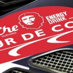 "Che Guevara is now also an energy drink, and a sponsor for the ""Tour de Corse"""