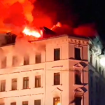 Leipzig, Germany: Syrian refugee blocks exits, sets fire to apartment building