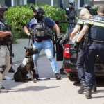"Netherlands: police dog killed by axe-wielding man yelling ""Allahu Akbar"""