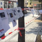 Germany: Women's Alliance installs 50 meters of imported violent crime