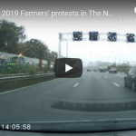 Thousands of farmers gather to protest Dutch government